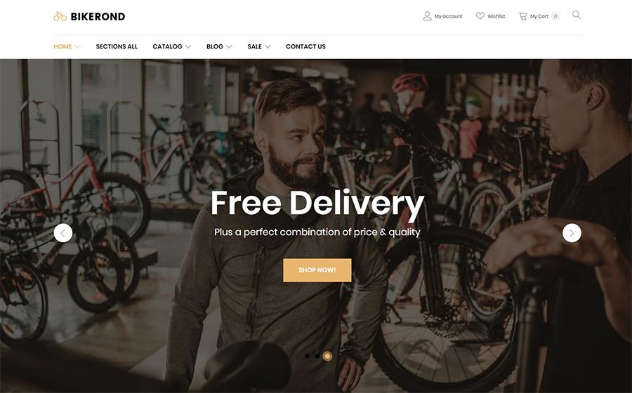 Bike Shop Template