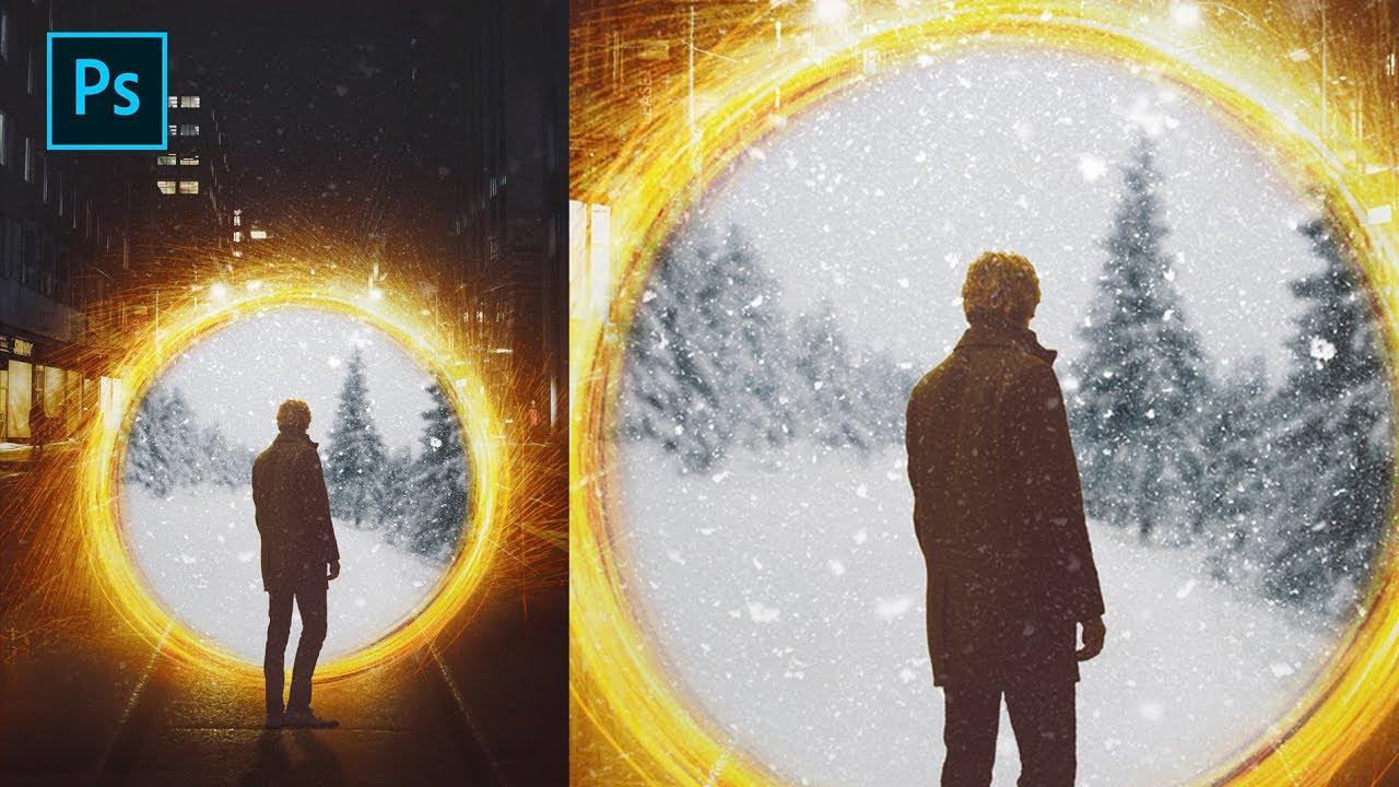 Create Portal Effect in Photoshop