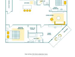 CSS Grid: Floor Plan