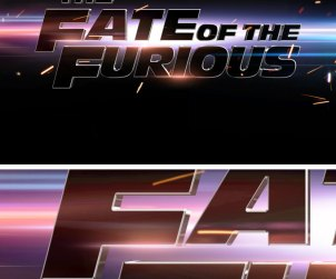Fast and Furious Text Effect