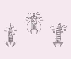 Free Landmarks Icons