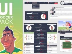 Free Soccer UI Kit