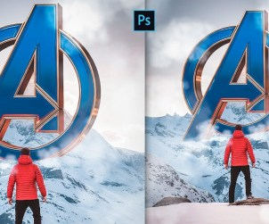 Create Avengers Endgame Photo Manipulation