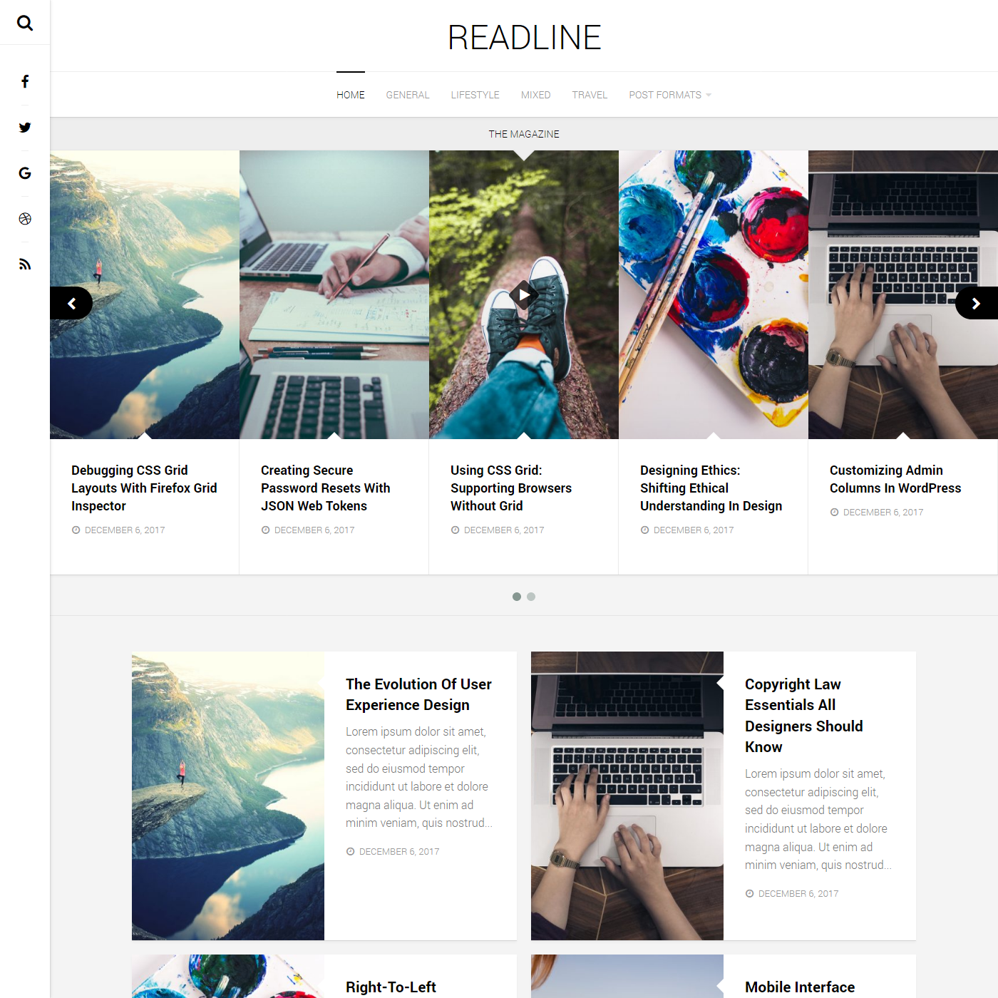 Flexible Magazine WordPress Theme