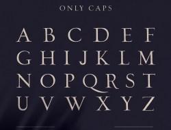 Hand Written Brush Font