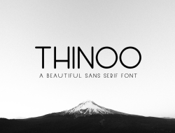 Thinoo Free Modern Font