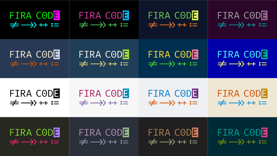 Free Monospaced Font for Coding