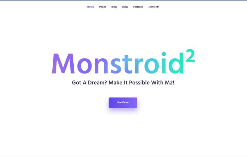 Monstroid2 Best WordPress Theme