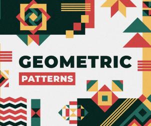 Free Vector Geometric Patterns