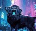 Three Headed Lion Photo-manipulation
