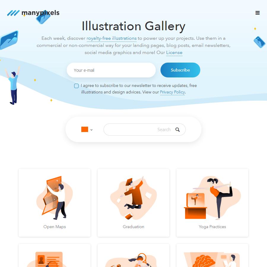 Illustration Gallery