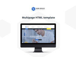 Free HTML5 Cleaning template