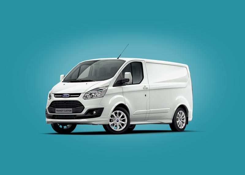 Free Ford Van Mockup
