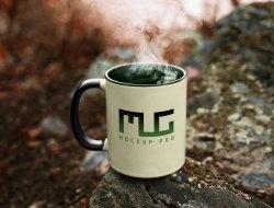 Vintage Coffee Mug Mockup