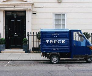 Piaggio Pickup Truck Mockup