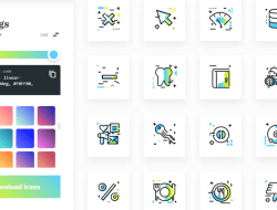 Free Gradient SVG Icons