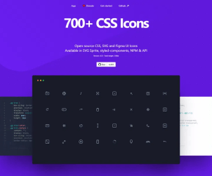 CSS, SVG and Figma UI Icons