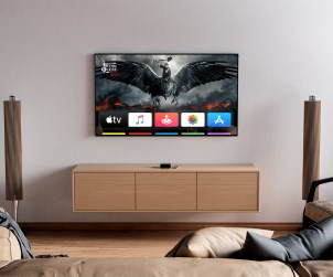 Free TV Mockup in Interior