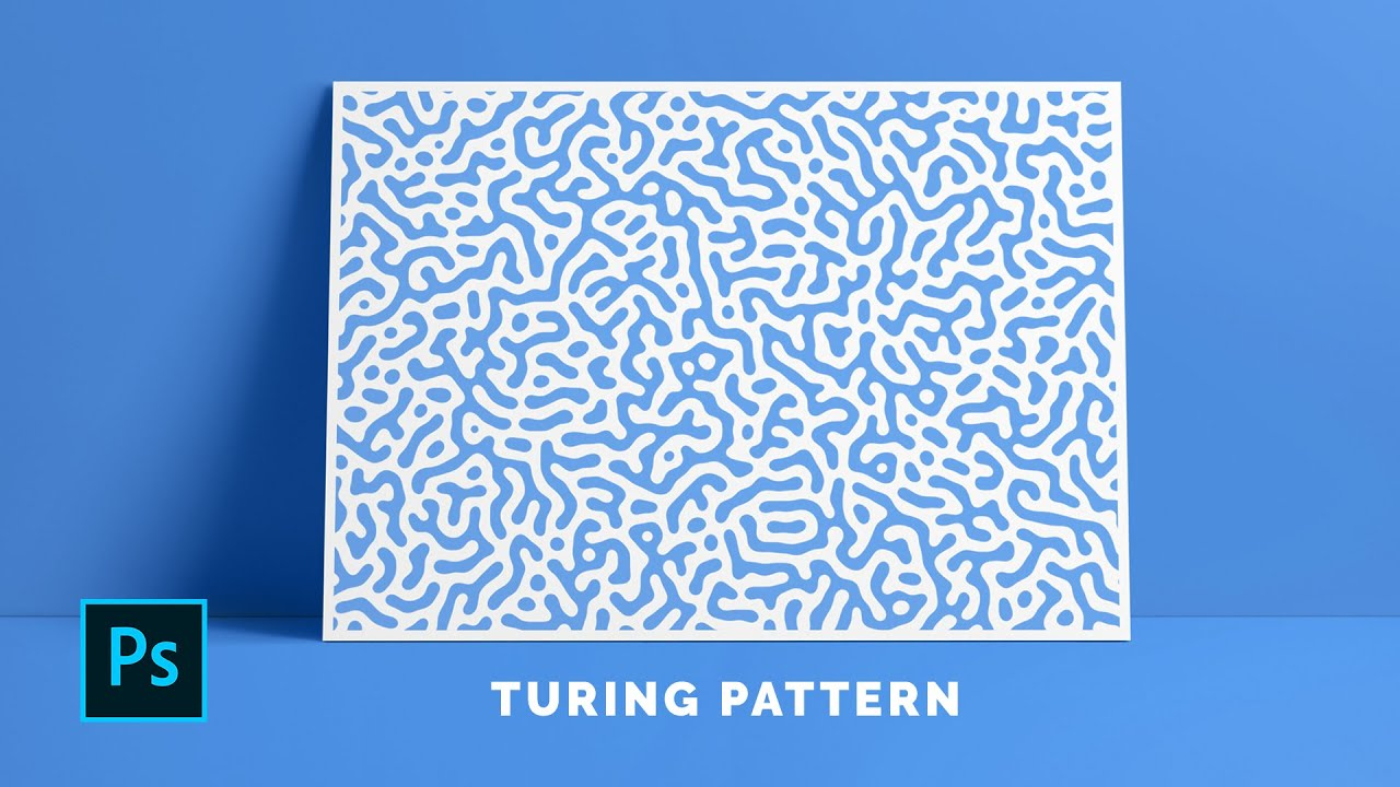 Make Turing Patterns in Photoshop