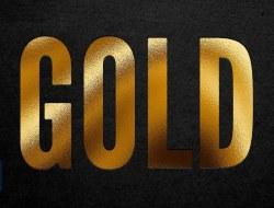 Create a Gold Foil Effect