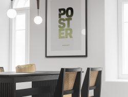 Dining Room Poster Mockup