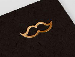 Gold Emboss Logo Mockup