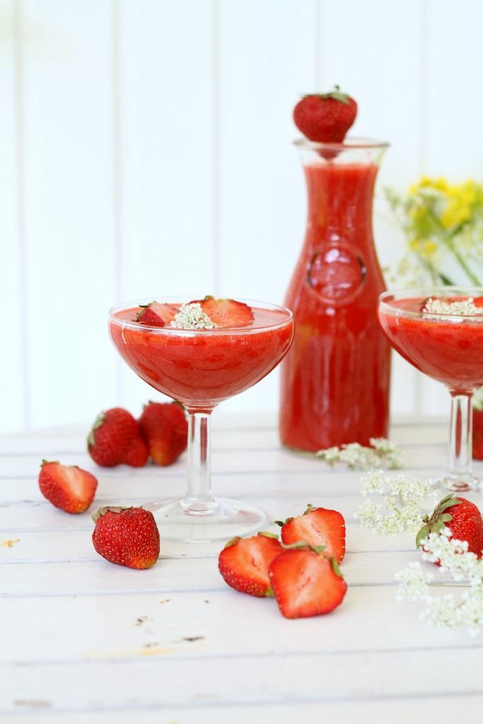 jordgubbbs vattenmelon