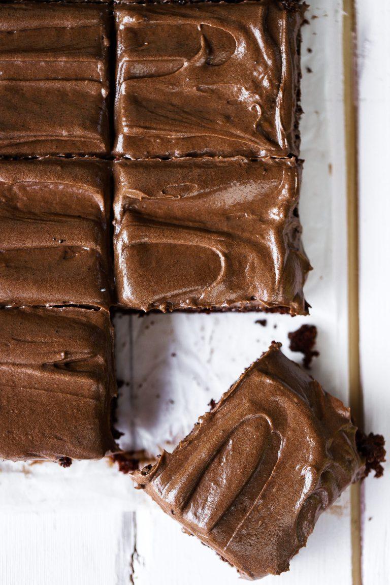 Saftig Chokladkaka med Chokladfrosting