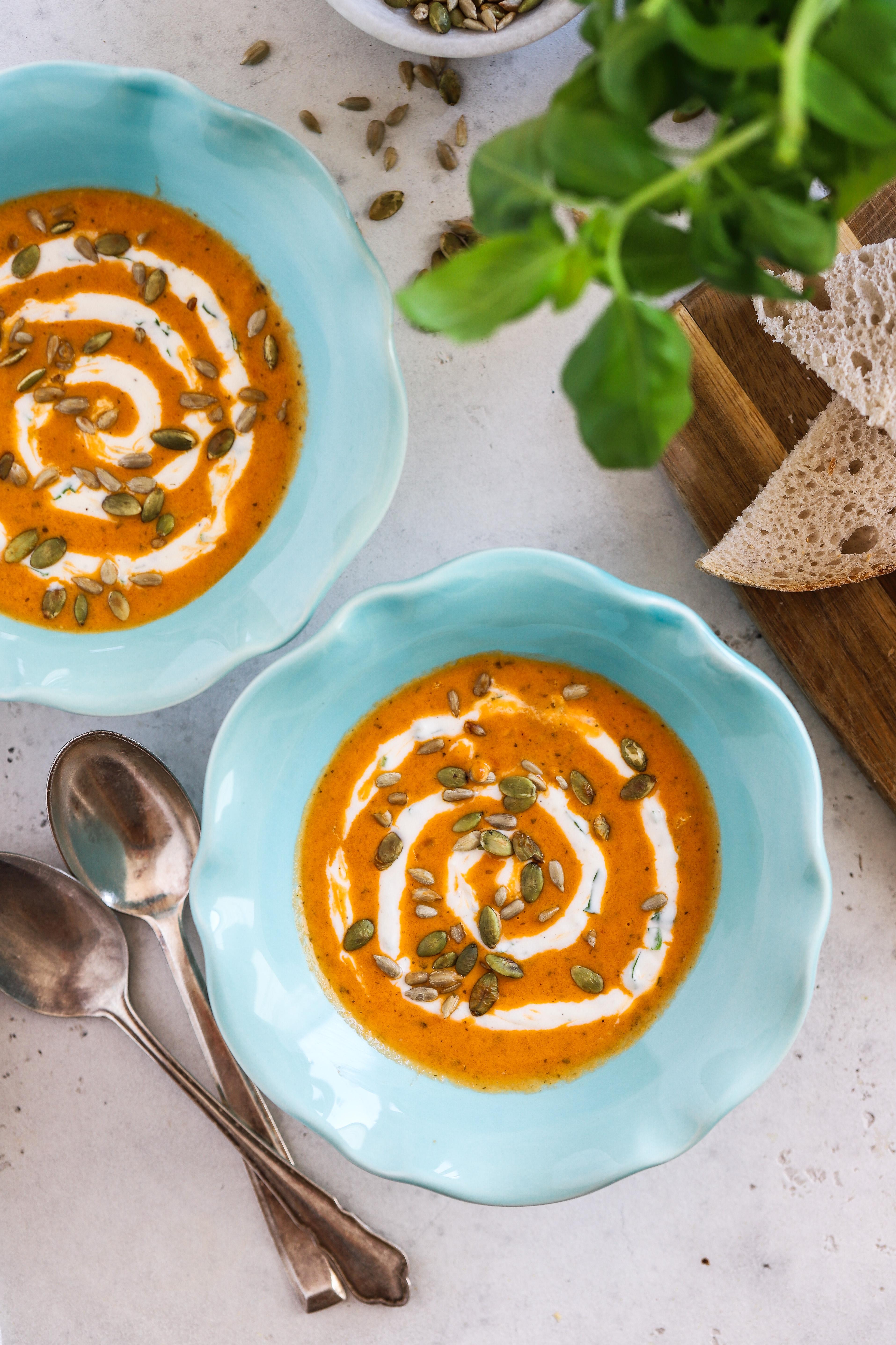 vegansk tomatsoppa
