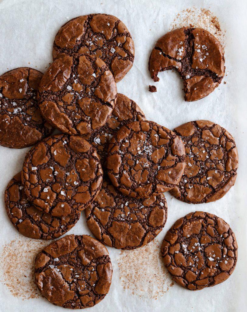 glutenfria kladdkakecookies