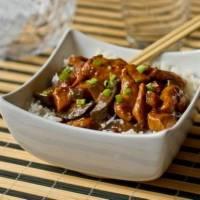 ჩინური სამზარეულო: ქათამი ბადრიჯნით