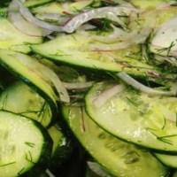 კიტრის სალათი