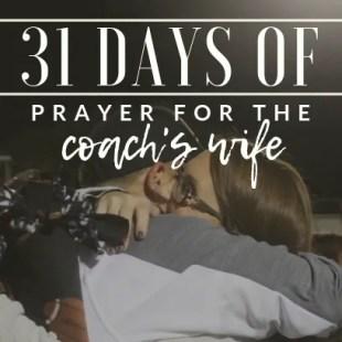 download ebook prayer series coach's wife 31 days