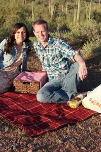 Romantic Sunset Picnic