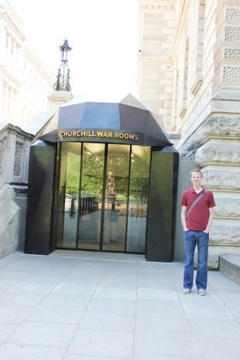 London Day 5: The Churchill War Rooms