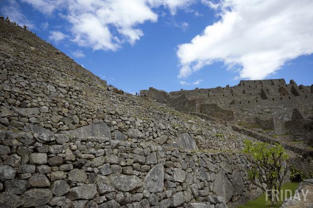 Machu Picchu Incan City Walls