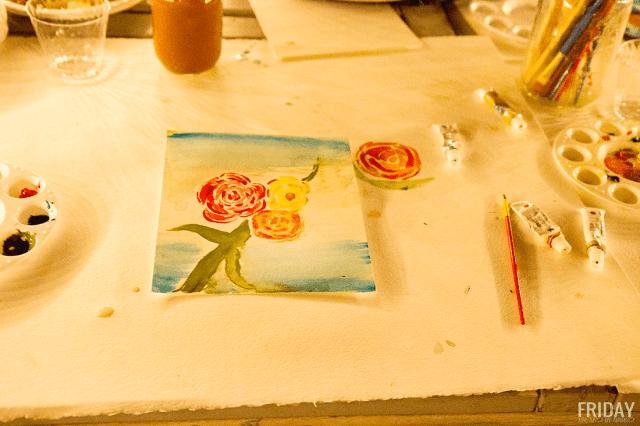 Beth Allen Art date night water color