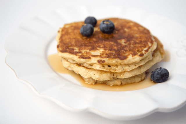 Buttermilk Oatmeal Pancake Recipe