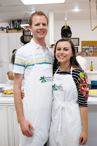 Sweet Basil Cooking Class