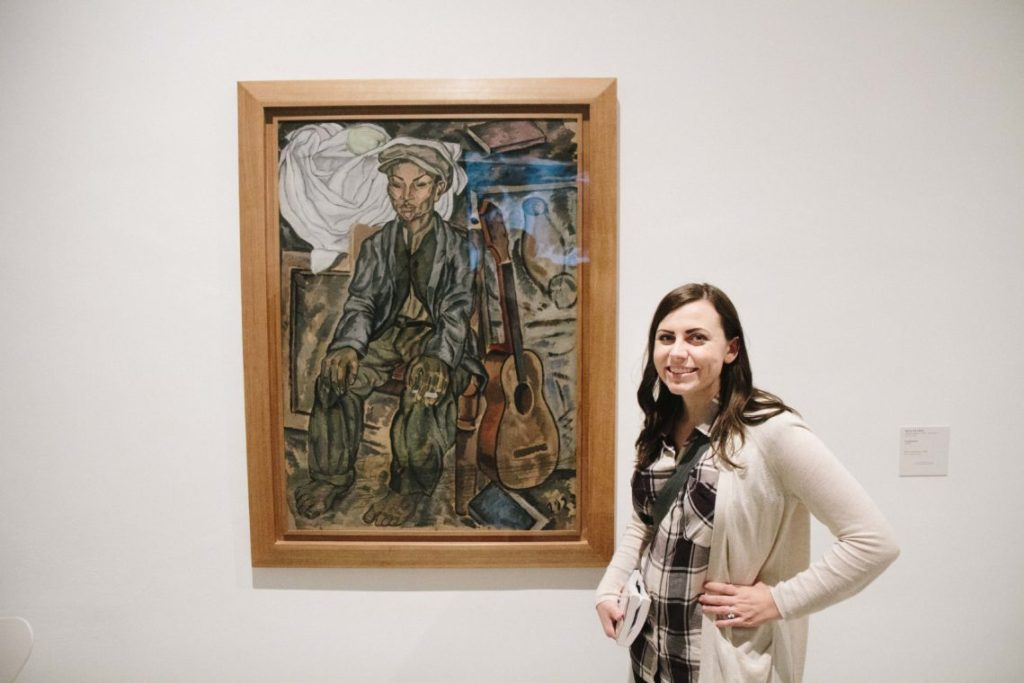 Visiting the Reina Sofia Van Gogh