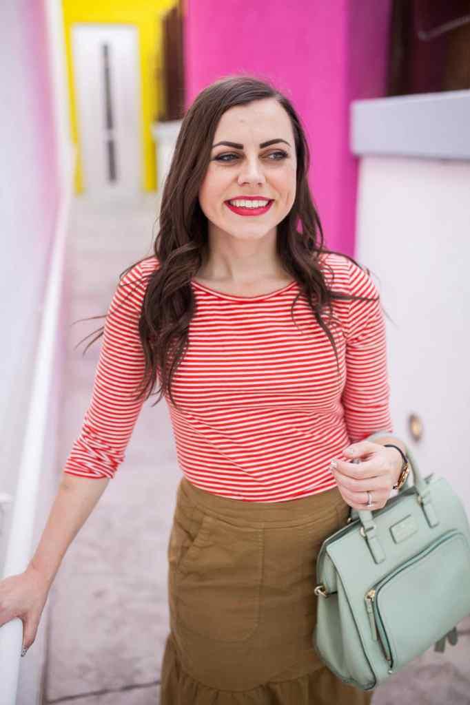 Effortless business casual look