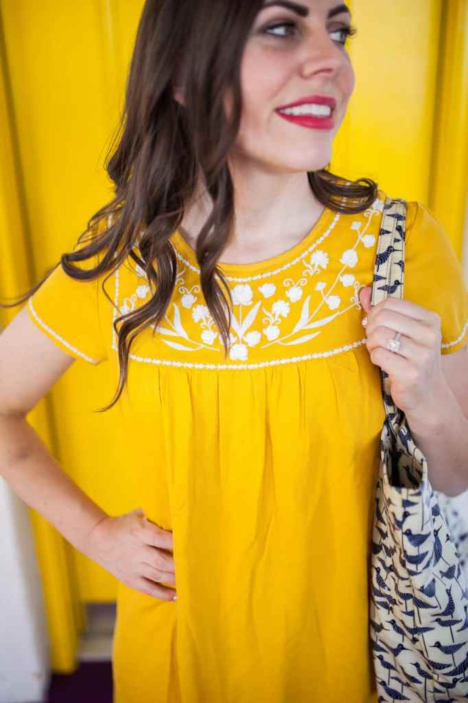Yellow Dress for Summer