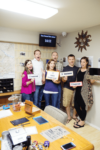 Escape Room Group Date