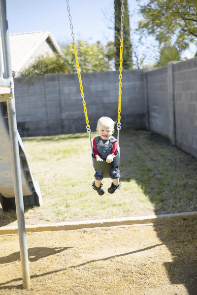 Backyard Fun and An Easy Hack to Get Your Backyard Spring-Ready