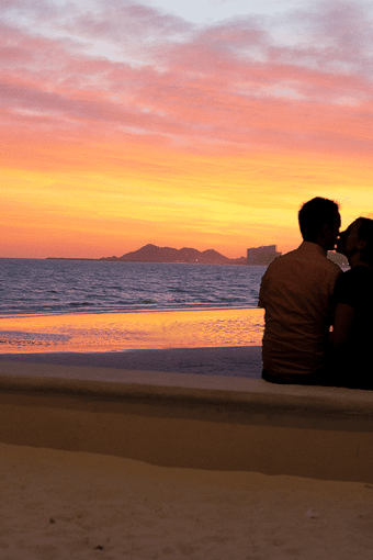 Rocky Point Mexico: Day 1: Part 2: A Romantic Sunset Dinnner