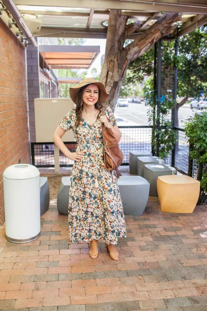 25 short sleeve maxi dresses $30 or less