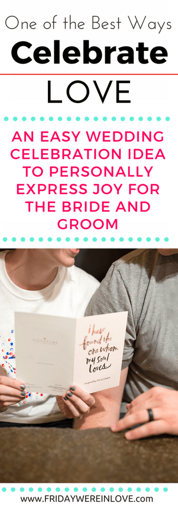 Our favorite way to celebrate love! This wedding celebration party is so simple and perfect for quality time with the bride and groom to be!