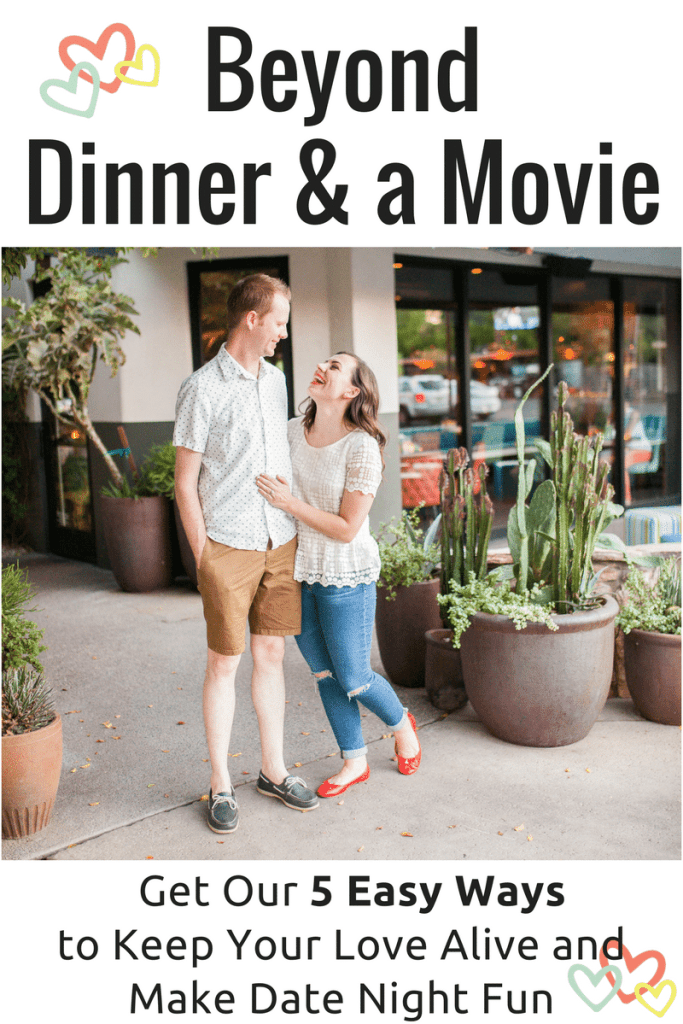 Sign Up Here to get our 5 Easy Waysto Make Date Night Fun Again!
