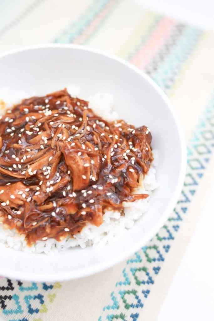 Sesame Honey Chicken Crock Pot Recipe