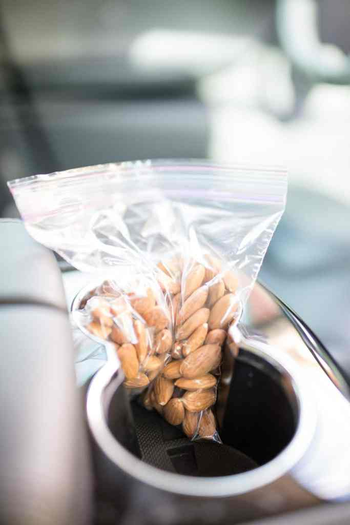 Healthy snack idea: California Almonds